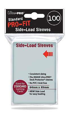 "Ultra Pro ""PRO Fit"" Side Load Standard Sleeves"