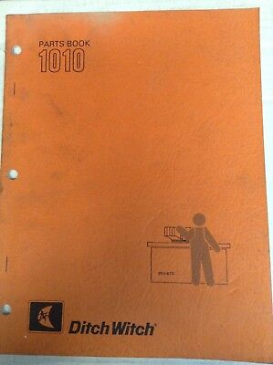Ditch witch 1010 parts book 4000 picclick ditch witch 1010 parts book fandeluxe