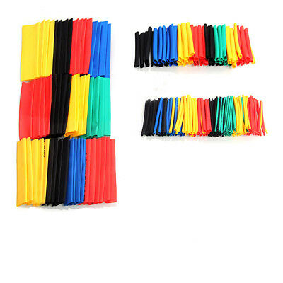 328pcs Polyolefin 2:1 Heat Shrink Tubing Set Electrical Wrap Wire Cable Sleeving