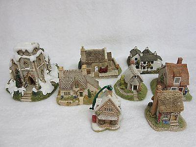 Lilliput Lane Lot of 8 Dove Cottage,St. Nicholas,Spinney,Nutshell,Dovetail,Ivy
