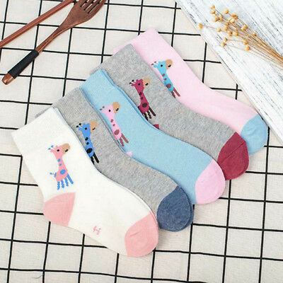 Casual 5 Pairs Short Tube Socks Cute Baby Toddler Hot Sale Solid Color