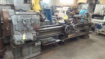 Large Long Monarch engine lathe 26.5 diameter swing