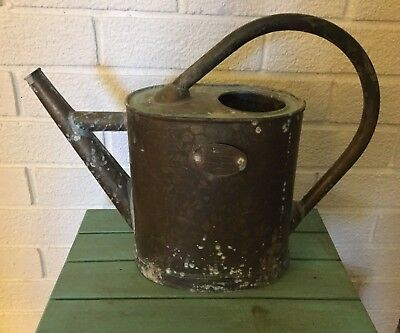 Antique French Metal Watering Can, Orleans, France