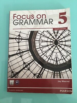 Focus on Grammar 5 +Compact disc for Mac and Windows by Jay Maurer
