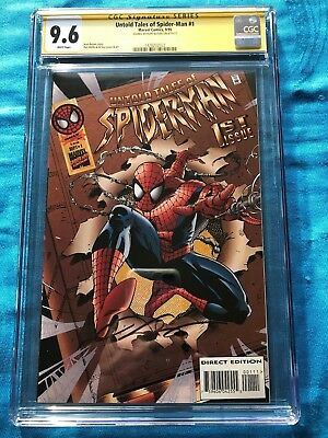 Untold Tales of Spider-Man #1 - Marvel - CGC SS 9.6 NM+ - Signed by Kurt Busiek