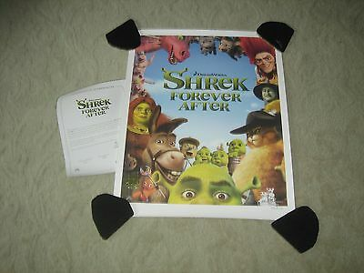 Shrek Forever After Lithograph w/Certification of Authenticity - Rolled