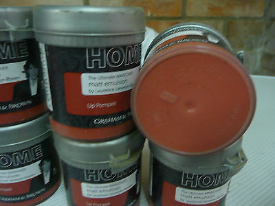 30 New Unused 100Ml Tins Of Graham&brown Paint.craft /upcycle.rusty Red.25P  Eac