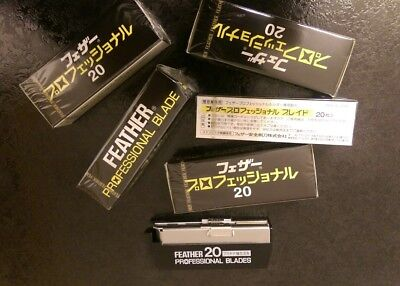 40 x Feather Artist Club Professional Blades  CHEAPEST ON EBAY  Fast UK POST