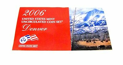 2006 United States Mint Uncirculated Coin Set Philadelphia and Denver