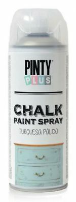 Chalk Paint Spray von Pinty Plus©, Kreidespray 400 ml, 17 Farben