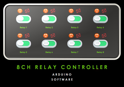 Arduino Software Relay Controller 8 Channel ** DOWNLOAD **