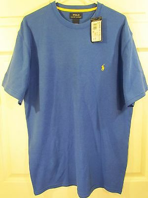 Polo Ralph Lauren Royal Blue And Yellow Embroidered Thermal T-Shirt Men's Xl Nwt