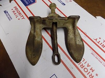 Vintage Number 15 Rustic Original Boat Anchor Nautical Decor or Use