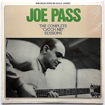 """Joe Pass - The Complete """"Catch Me!"""" Sessions LP  USA  Blue Note  LT-1053"""