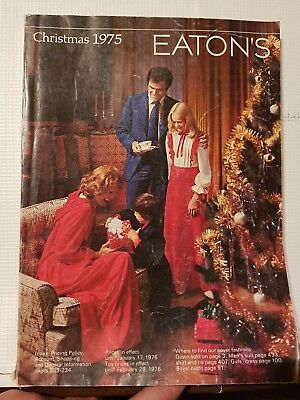 Eaton's 1975 Christmas Store Catalog , 436 Pages , Toys , Lego , Tyco Others