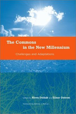 Commons In New Millennium Challenges & Adaptation **brand New**