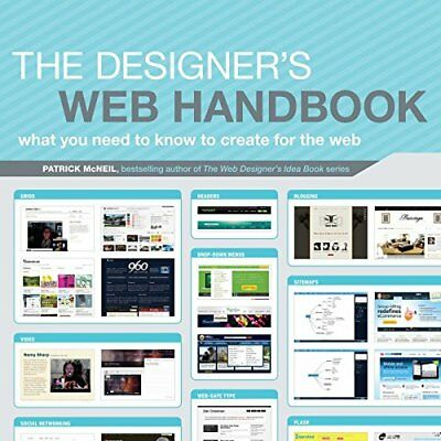 DESIGNER'S WEB HANDBOOK: WHAT YOU NEED TO KNOW TO CREATE FOR WEB By Patrick NEW