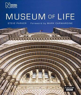 MUSEUM OF LIFE: ACCOMPANIES MAJOR BBC SERIES By Steve Parker - Hardcover **NEW**