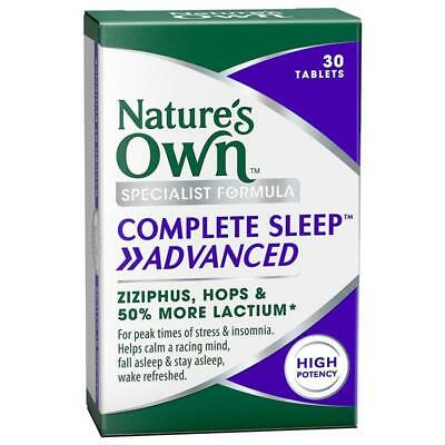 Natures Own Complete Sleep Advanced Tablets 30