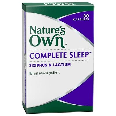 Natures Own Complete Sleep Capsules 30