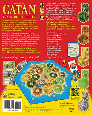 HOT Settlers of Catan Board Game New Party Game MPN MFG3071- IN STOCK