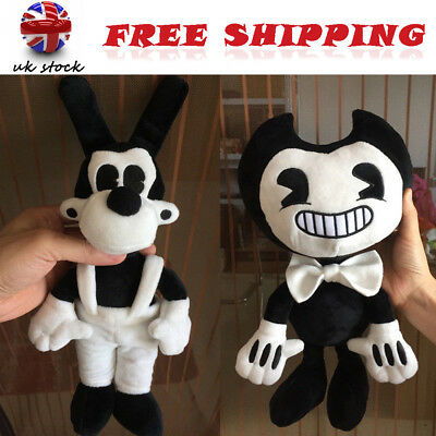 Exclusive Bendy and the ink machine Bendy and Boris Toy Figure Plush Doll gift