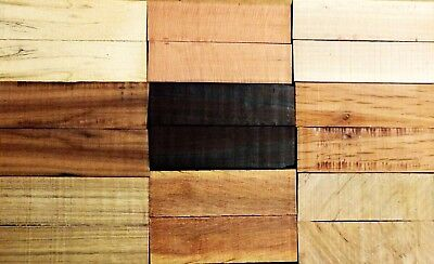 Bulk Buy - Variety Pack Wood Knife Scales (2nd's) - Lot 2
