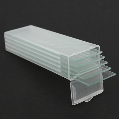 5Pcs Reusable Cavity Glass Coverslips Microscope Double Slides 1mm Thickness