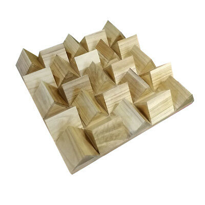 Studio Wide Band Reflector Triangle Wood Acoustic Sound Diffusor