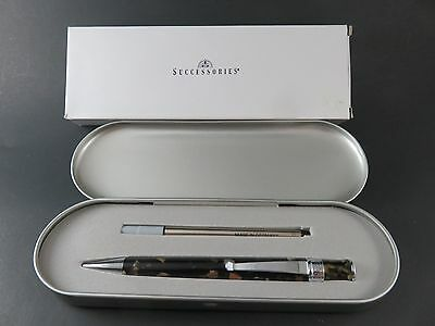 Successories Leadership Pen Gift Set Pen With Ink Refill Metal Tin Gift Boxed