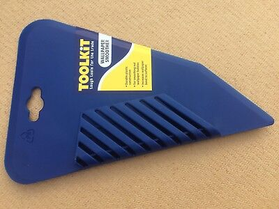 FLEXIBLE PLASTIC WALLPAPER HANGING SMOOTHER SMOOTHING BLADE 280mm toolkit trade