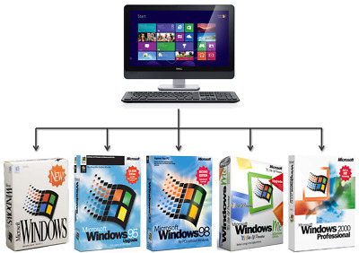 VMWare 14 Pro with 5 Virtual PC with Operating Systems & Drivers DOWNLOAD