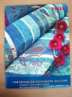 """Machine Embroidery Patchwork CD designs - """"Enhanced Patchwork quilting"""""""