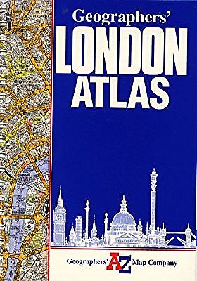 A. to Z. London Atlas (Street Atlas), Geographers A-Z Map Company, Used; Good Bo