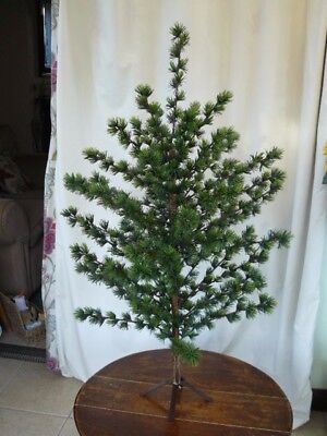 Vintage Artificial Christmas Trees.Vintage Artificial Christmas Tree Floral Pine British Hong Kong 1961