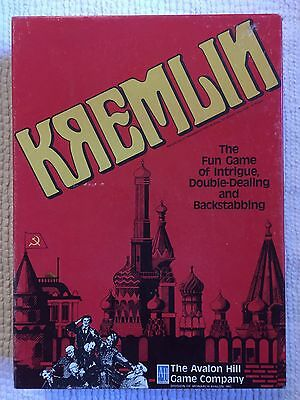 BNIB Kremlin Board Game - Rare Collectable Vintage 1988 Boardgame