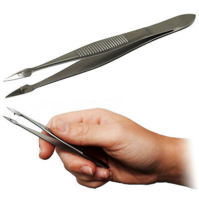 Surgimax Hunter Splinter Foreign Body Removal Medical Forceps Tweezers CE SS