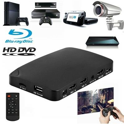 Live Stream 1080P HD HDMI HDD Video Capture Box Recorder fr Apple TV 2 3 4 4K AU
