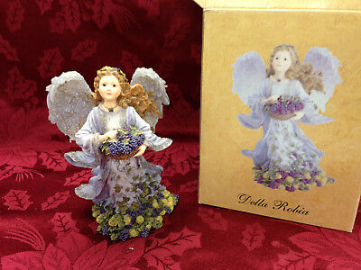 The Charming Angels Boyds Collection Della Robia Abundance Figurine{AG}