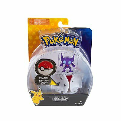 Pokemon Tomy Throw 'N' Pop Poke Ball - SABLEYE & Ultra Ball - New