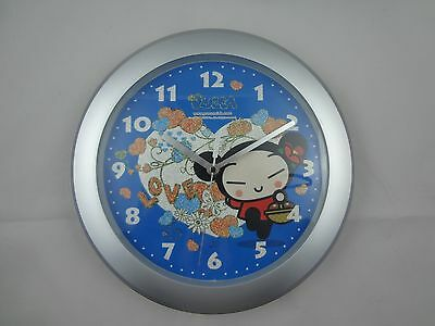 """Pucca Love Wall Clock ~ Valentine's Day Hearts ~ Large 12"""" Diameter ~"""