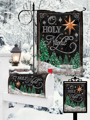 """Christmas Tree Star Bright Garden Flag Small 18"""" x 12"""" Only"""