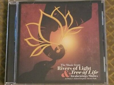 DISNEY Rivers of Light MUSIC CD Soundtrack TREE OF LIFE Show ANIMAL KINGDOM New