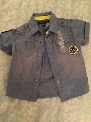 Tommy Hilfiger Denim Shirt 6-9 Months