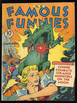 Famous Funnies 86........4.0........early Everett cover