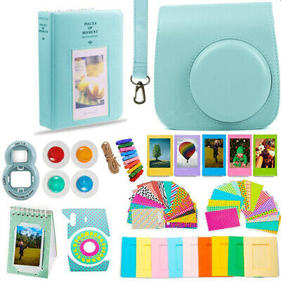 Fujifilm Instax Mini 9/8 Camera Accessories - Huge Kit! Case-Frames-and More