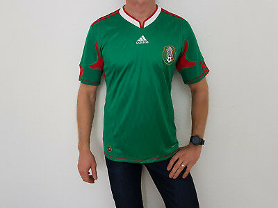 NWT Adidas FMH H JSY SS Soccer Fußball ClimaCool Mexico Glanz Jersey T-Shirt XL