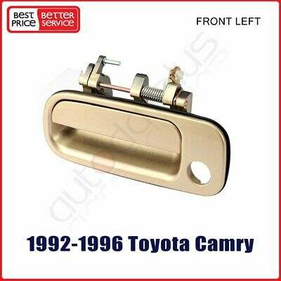 Door Handle Exterior Front Left Side Driver for 92-96 Toyota Camry DX LE Sedan