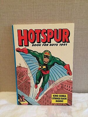 The Hotspur Annual Book for Boys 1991