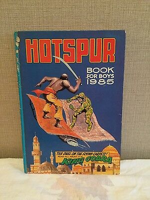The Hotspur Annual Book for Boys 1985